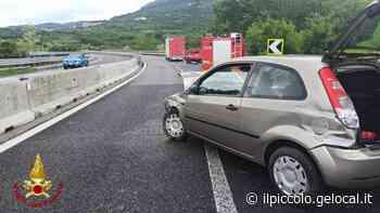 Trieste, incidente fra un camion e un'auto sulla 202 - Il Piccolo