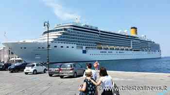 """Il ritorno delle navi bianche: """"Luminosa"""" a Trieste per il weekend - TRIESTEALLNEWS"""