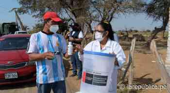 Lambayeque: ejecutan acciones por agua contaminada en Pacora - LaRepública.pe