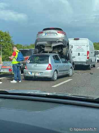 Accident spectaculaire : entre Rennes et Noyal sur Vilaine - La Pause Info