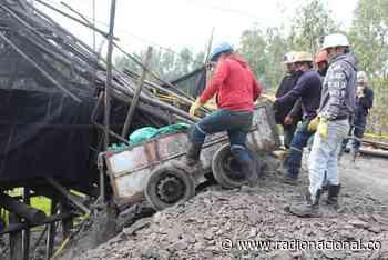 Fueron rescatados los mineros atrapados en socavón de Tuta, Boyacá - http://www.radionacional.co/