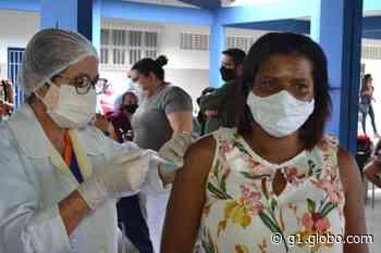 Santo Amaro das Brotas começa a vacinar profissionais da educação contra a Covid-19 - G1