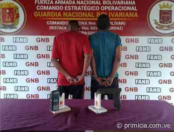 """Aprehenden a dos miembros de """"Los Rapiditos"""" en San Félix - Diario Primicia - primicia.com.ve"""