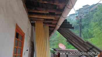 Vendaval en Aranzazu deja siete viviendas afectadas - BC Noticias