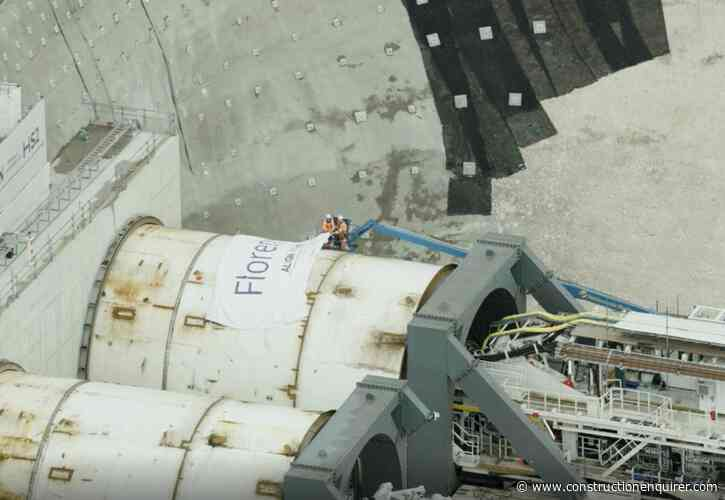 HS2 hits historic milestone as first TBM launches