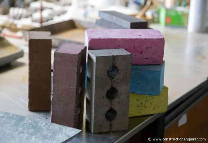 Construction waste bricks start commercial production