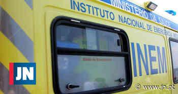 Um ferido grave em colisão seguida de despiste contra árvore em Palmela - Jornal de Notícias