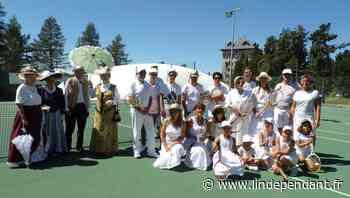 Tournoi de tennis en tenue d'époque à Font-Romeu-Odeillo-Via - L'Indépendant