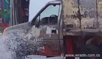 Explosión de pipeta de gas en San Gil dejó dos heridos - W Radio