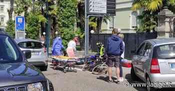 Ciclista investito in pieno centro a Riva del Garda - l'Adige - Quotidiano indipendente del Trentino Alto Adige