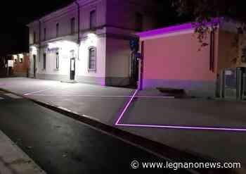 A Parabiago la stazione si illumina di viola per la Giornata mondiale della Fibromialgia - LegnanoNews.it
