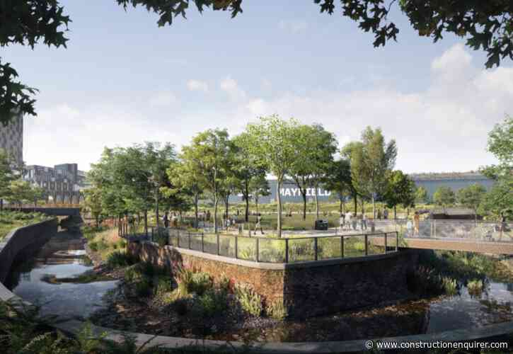 PP O'Connor to build Manchester's first public park for 100 years
