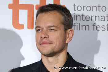 Matt Damon Is Officially One Of Us: Star Does Interview From Aussie TAB - Men's Health