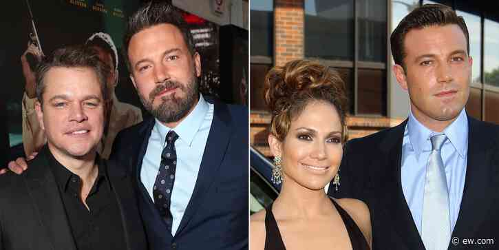 Matt Damon jokes about Ben Affleck, Jennifer Lopez reunion: 'I hope' - EW.com