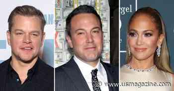 Matt Damon Weighs In on Possible Reunion Between Exes Ben Affleck and Jennifer Lopez: 'I Hope It's True' - Us Weekly