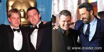 Matt Damon and Ben Affleck friendship through years, and best moments - Insider