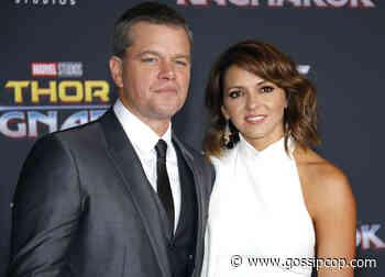 Matt Damon's Marriage 'Hanging By A Thread'? - Gossip Cop