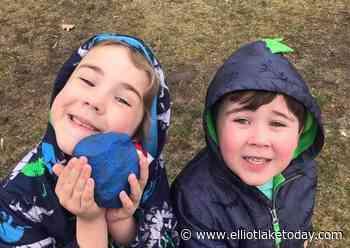 Blind River students spread joy, one rock at a time (6 photos) - ElliotLakeToday.com