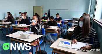 """Opnieuw voltijds naar school in Atheneum van Ieper: """"Het is heel belangrijk om ze nu te motiveren richting de examens"""" - VRT NWS"""