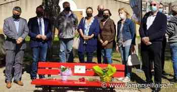 Un banc rouge à Saint-Chamas pour dire stop aux violences conjugales - Journal La Marseillaise