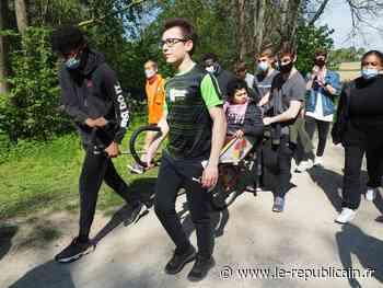 Essonne : des lycéens d'Arpajon emmènent en joëlette des jeunes de l'IME André-Coudrier - Le Républicain de l'Essonne