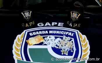 GAPE prende homem com grande quantidade de droga no Monte Mor   Jornal Acontece Botucatu - Acontece Botucatu