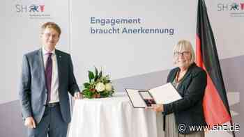 Pellworm: Hohe Auszeichnung für Krankenschwester Christa Drigalla | shz.de - shz.de