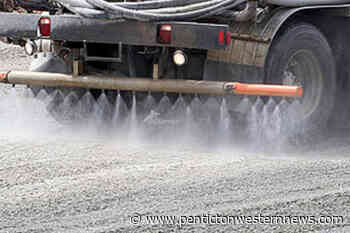 Dust control work gets underway in Osoyoos, with a warning for pets – Penticton Western News - Penticton Western News