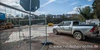 Leverkusen und Burscheid: Gasleitung: Wiese in der Wiembach-Aue wird zu Lagerplatz - Boden belastet - Kölnische Rundschau