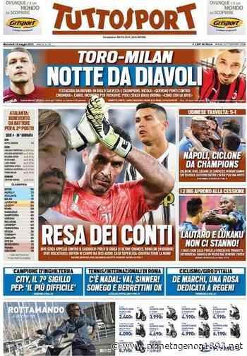 Prime pagine: Atalanta, tre punti contro il Benevento per proseguire la corsa Champions - PianetaGenoa1893 - Pianetagenoa1893.net
