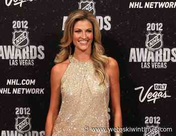 NHL partners with Erin Andrews for line of women's sportswear - Wetaskiwin Times Advertiser