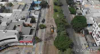 San Isidro: inician trabajo de rehabilitación en la avenida José Gálvez Barrenechea - Diario Perú21