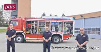 Monsheim Feuerwehr Monsheim stellt neue Leitung vor - Wormser Zeitung