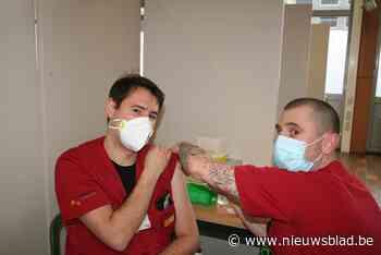 Bijna alle medewerkers AZ Nikolaas gevaccineerd