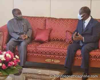 Pres. Weah Assures Cote d'Ivoire of Liberia's Commitment to Peace and Stability in the Region - Front Page Africa