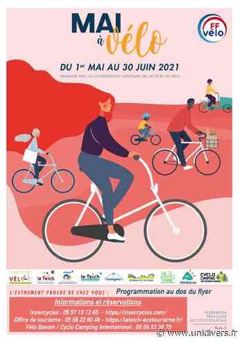 Mai à vélo Le Teich - Unidivers