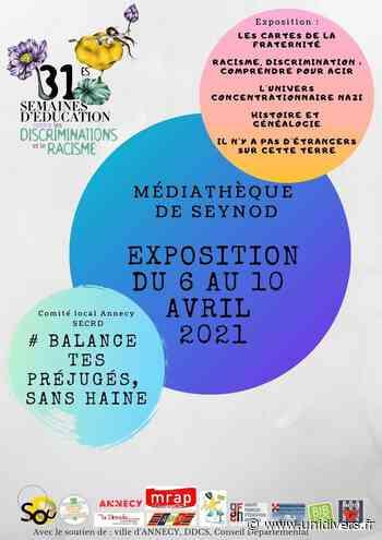 @Balance tes préjugés sans haine Médiathèque de seynod Annecy - Unidivers