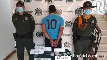 En Aguadas capturaron a un hombre portando droga - BC Noticias