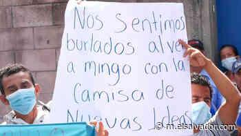 Miembros de Nuevas Ideas rechazan que alcalde de Guaymango, electo bajo la bandera del Fmln, se cambie a dicho partido - elsalvador.com