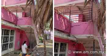 León: Denuncian edificio a punto de colapsar en Las Arboledas - Periódico AM