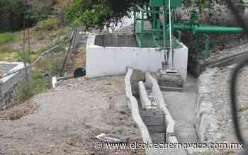 Se presentan fallas constantes en planta tratadora de la colonia Arboledas Chipitlán - El Sol de Cuernavaca