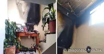 Veladora provoca incendio dentro de una vivienda en la colonia Arboledas - Imagen de Zacatecas, el periódico de los zacatecanos