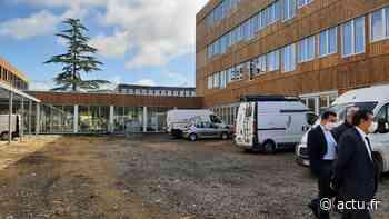 EN IMAGES - A quoi ressemble le nouveau collège Jacqueline Auriol à Challans ? - actu.fr