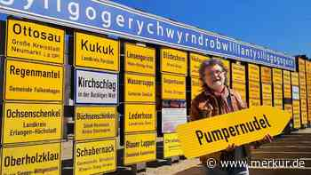 "St. Wolfgang: Schild im Fernweh-Park: ""Pumpernudel"" kommt groß raus - Merkur Online"