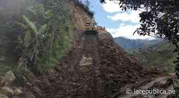 Cajamarca: reinician trabajos de construcción de carretera Bambamarca Marañón - LaRepública.pe