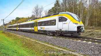 Hesse-Bahn - Zwischen Calw und Renningen rollen batteriebetriebene Züge - Schwarzwälder Bote