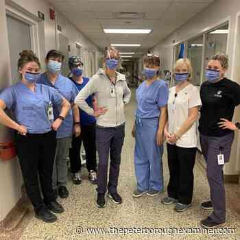 IMPACT: Campbellford patient's 'superheroes' wear scrubs   ThePeterboroughExaminer.com - ThePeterboroughExaminer.com
