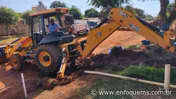 Sanesul faz melhorias na distribuição de água em Ivinhema - Enfoque MS
