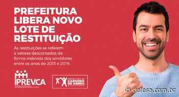 Prefeitura libera novo lote de restituição – Casimiro de Abreu - Defesa - Agência de Notícias