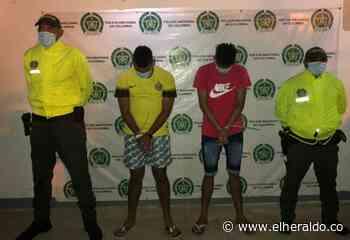 Capturan a dos hermanos por crimen de un celador en Manaure - El Heraldo (Colombia)